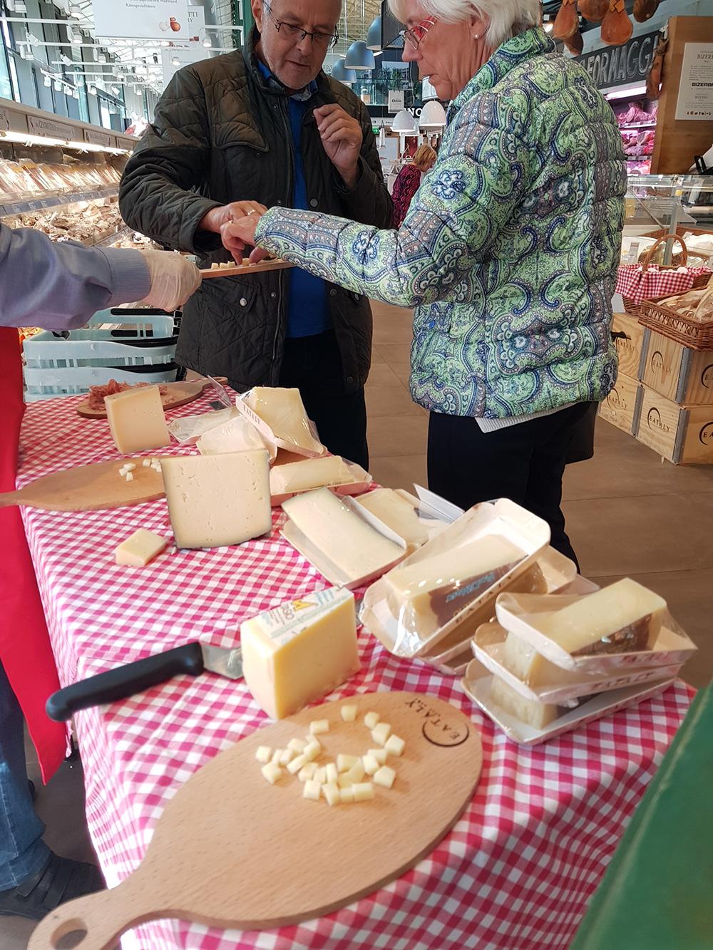 I nostri formaggi all'Eataly di Monaco
