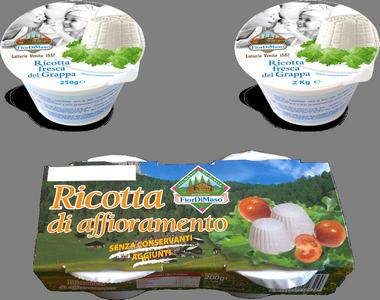Ricotta Fresca Del Grappa